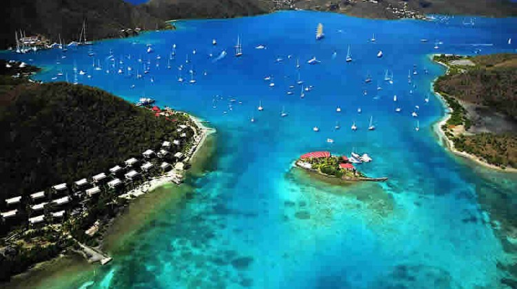 The BVI is the perfect yacht charter destination